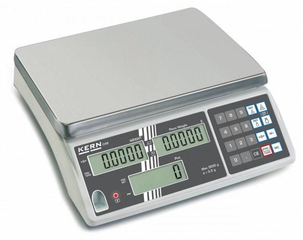 KERN Telweegschaal - 3000 g / 1 g - optioneel geijkt