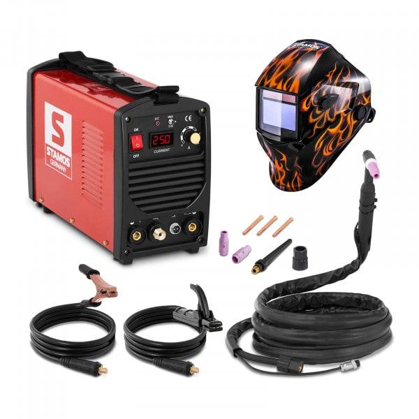 TIG - Lasmachine - 250 A - 230 V - Draagbaar + Lashelm – Firestarter 500 – ADVANCED SERIES