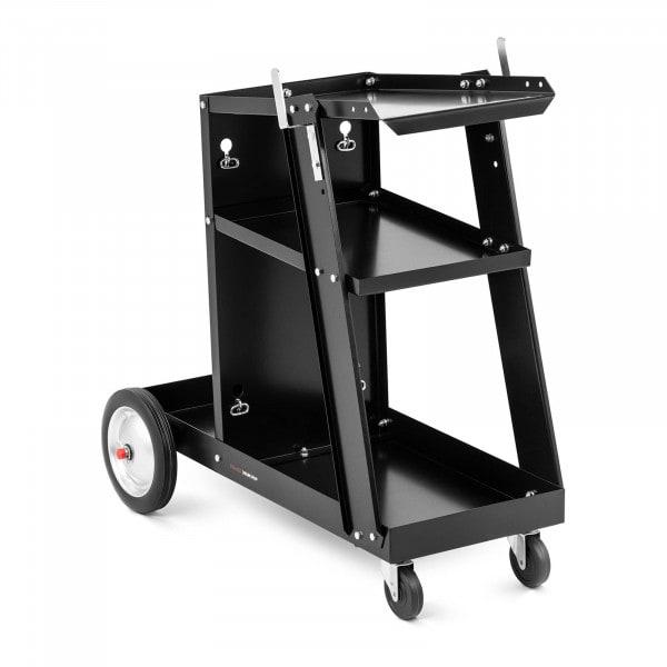 Laswagen met handgreep - 3 planken - 80 kg