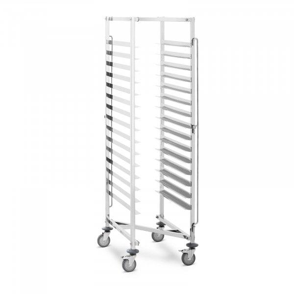 Dienbladwagen - 15 insteekvakken - 150 kg