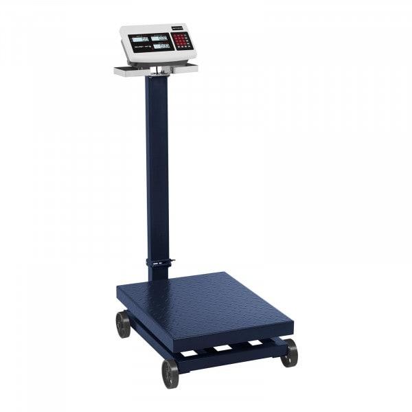 Platformweegschaal - 600 kg / 100 g - LCD - Verplaatsbaar