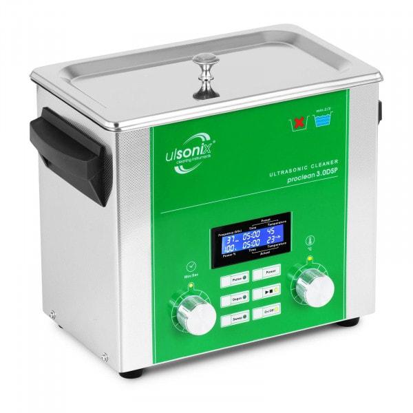 Ultrasoon reiniger - 3 liter - ontgassen - vegen - pulse