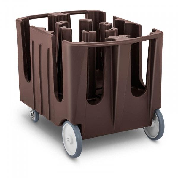 Bordenwagen - 400 borden - Ø 12-33 cm - 8 verstelbare vakken