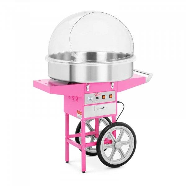 Suikerspinmachine - 72 cm - 1200 watt - inclusief onderstel