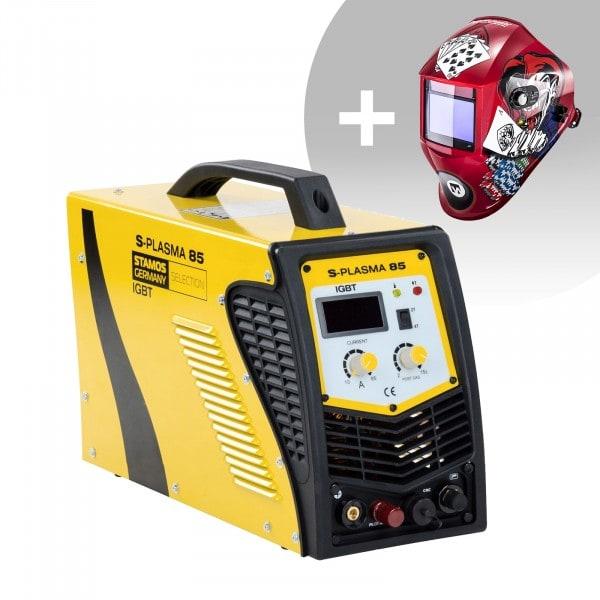 CNC Plasmasnijder - 85 A - 400 V - Pilotontsteking + Lashelm – Pokerface – PROFESSIONAL SERIES
