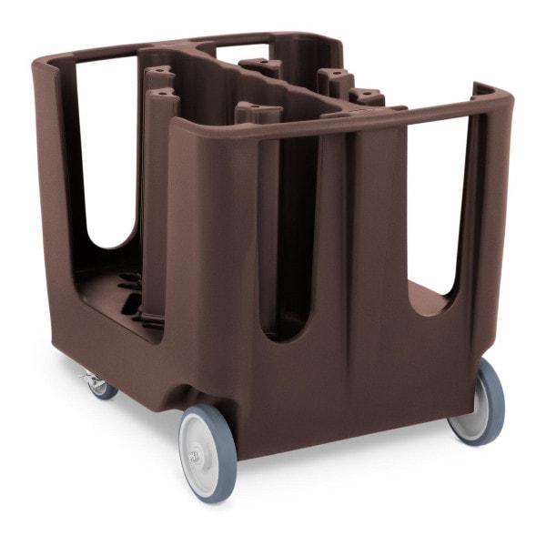 Bordenwagen - max. 300 borden - Ø 12-33 cm - 6 verstelbare vakken