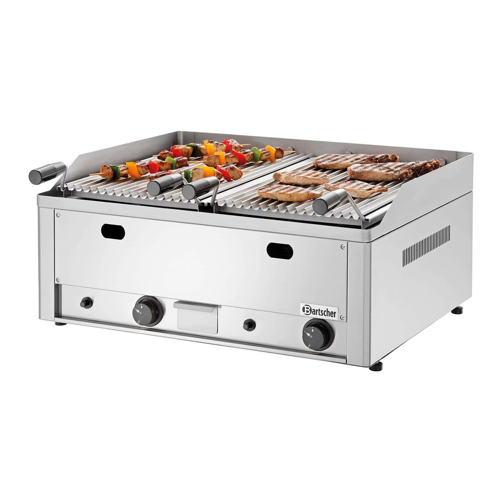 Lavasteen-grill