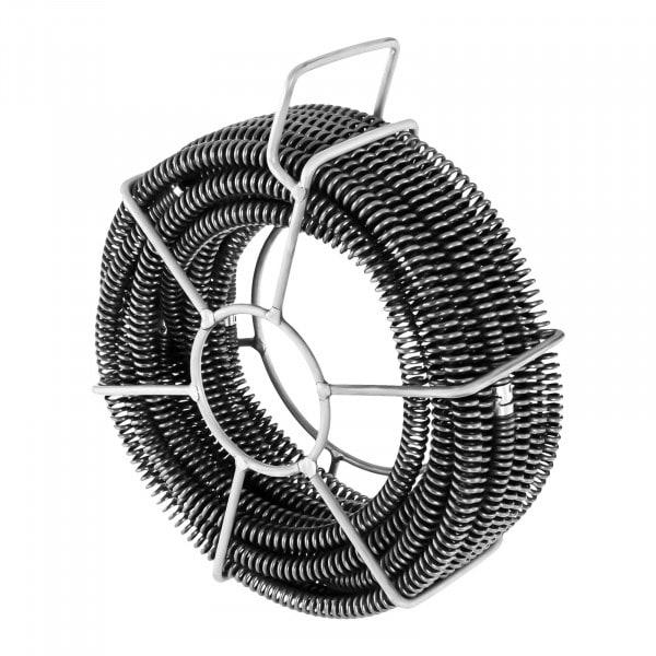 Pijpreinigingsspiralen set 6 x 2,45 m / Ø 16 mm