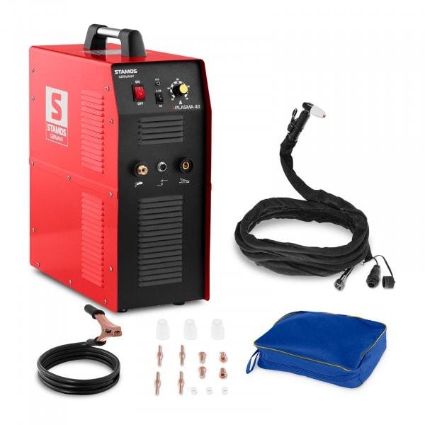Plasmasnijder – 40 A – 230 V – geïntegreerde persluchtcompressor