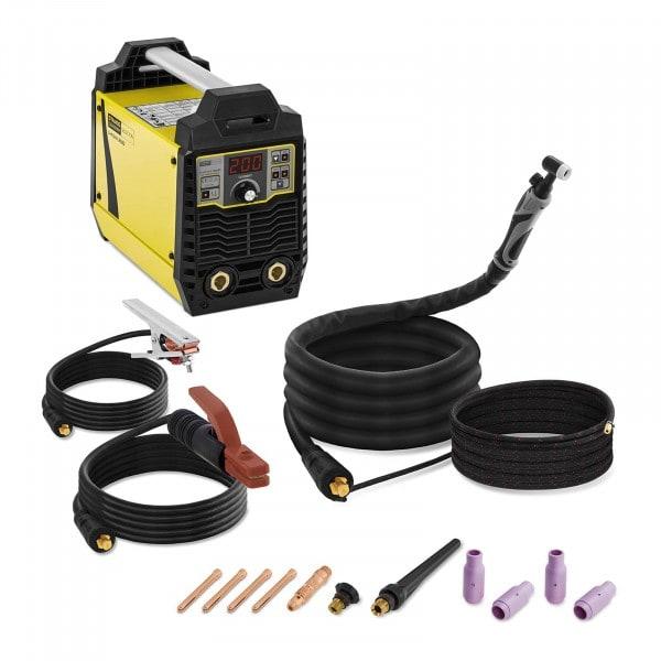 Elektroden lasapparaat set - 200 A met TIG Liftarc lasbrander
