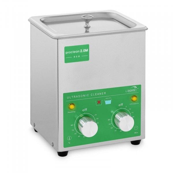 Ultrasoon reiniger - 2 liter - 60 W - Basic Eco