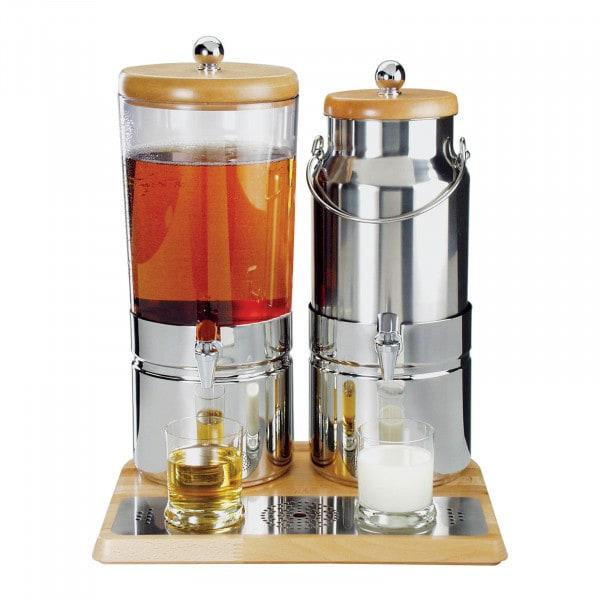 Sap- en melkdispensers - 6 + 5 L - koeling