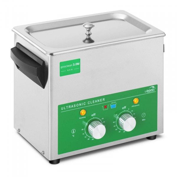 Ultrasoon reiniger - 3 liter - 80 W - Basic Eco