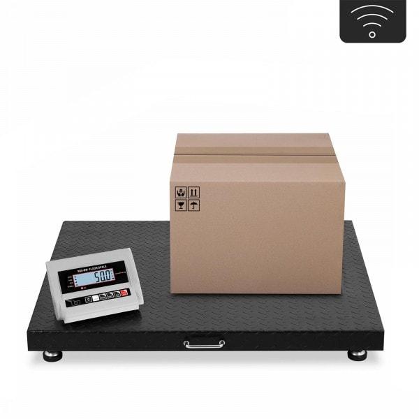 Vloerweegschaal - 3 t / 1,000 g - LCD - Draadloos