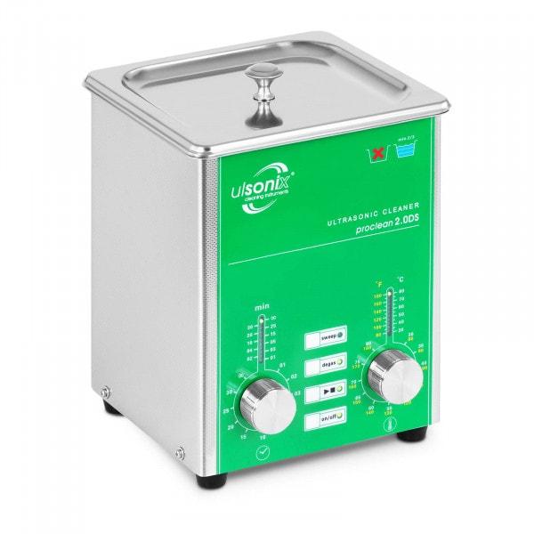Ultrasoon reiniger - 2 liter - ontgassen - vegen