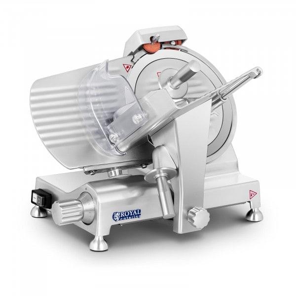 Vleessnijmachine - 250 mm - tot 12 mm - aluminium handgrepen