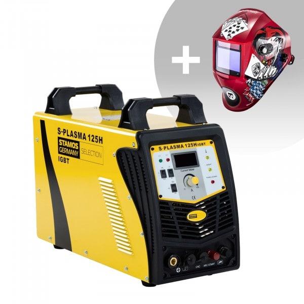 CNC Plasmasnijder - 125 A - 400 V - Pilotontsteking + Lashelm – Pokerface – PROFESSIONAL SERIES