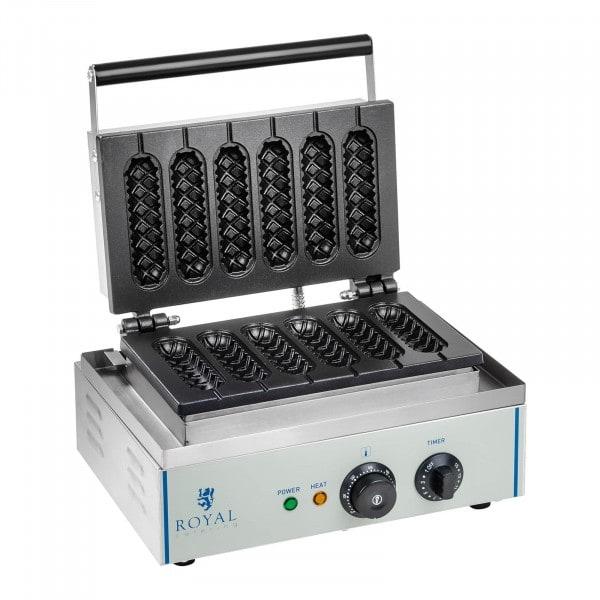 Wafelijzer - 1.550 watt - stick - maïshond