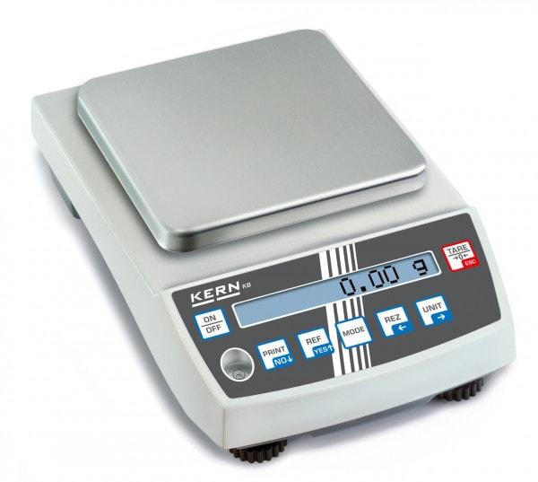 KERN precisieweegschaal - 2.000 g / 0,01 g - optioneel geijkt