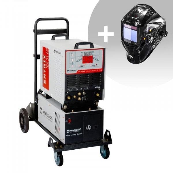 Lasapparaat Aluminium - 315 A - 400 V - Pulserend - Waterkoeler + Lashelm – Metalator– EXPERT SERIES
