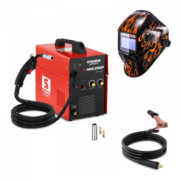 MIG/MAG lasapparaat - 250 A - 230 V - draagbaar + Lashelm – Firestarter 500 – ADVANCED SERIES