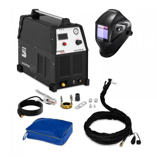 Plasmasnijder - 90 A - 400 V + Lashelm – Carbonic – PROFESSIONAL SERIES