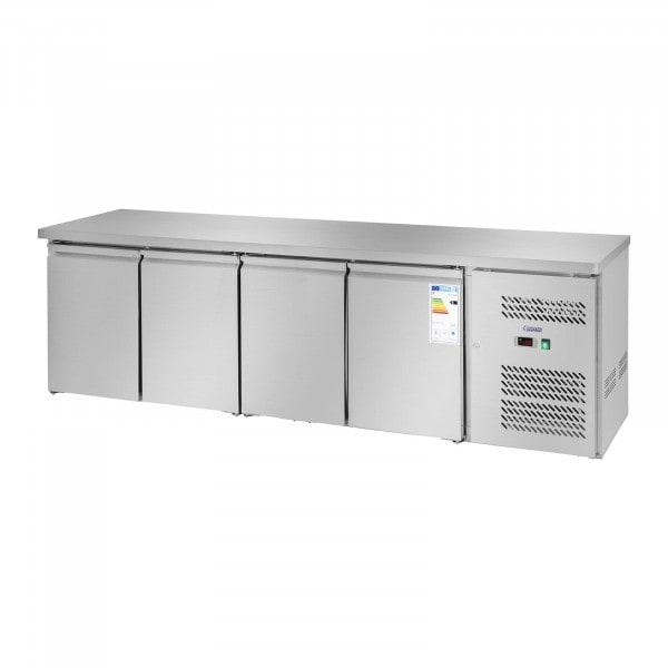 Koelwerkbank - 450 l - 4 deuren