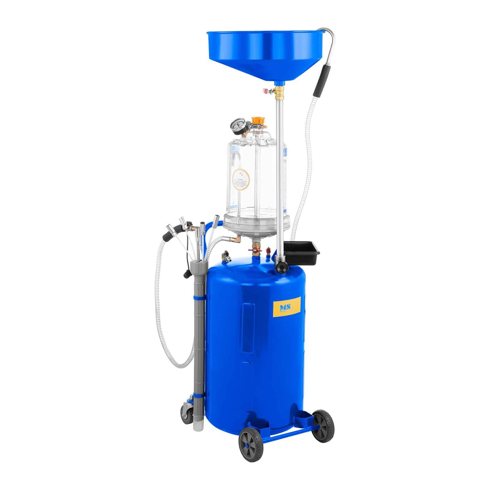 Olieverversing apparatuur