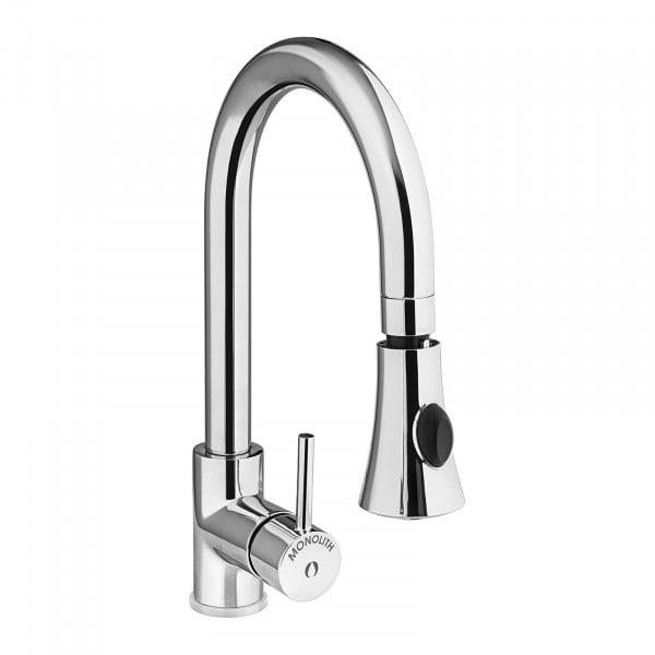 Keukenmengkraan met douchekop - geïntegreerde slang - - 1200 mm slang