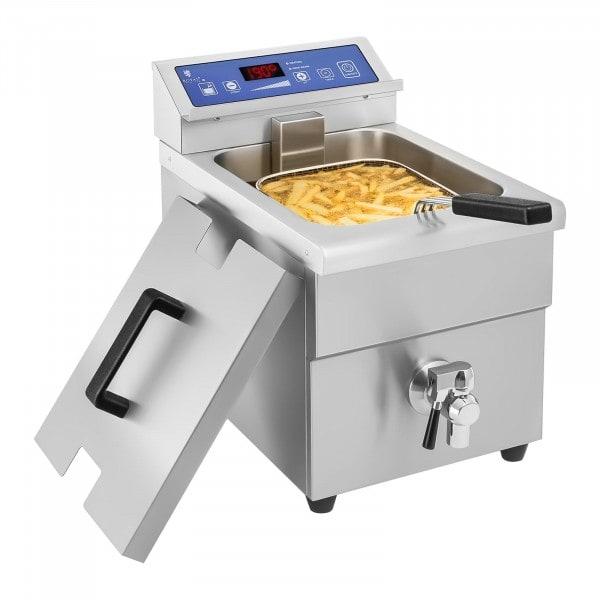 Inductie friteuse – 1x 10 liter – 60 tot 190°C