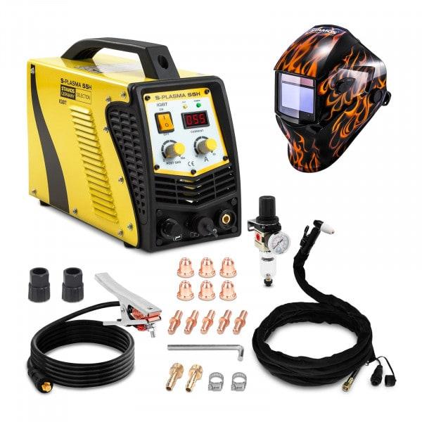 Plasmasnijder - 55 A - 230 V - Contactontsteking + Lashelm – Firestarter 500 – ADVANCED SERIES