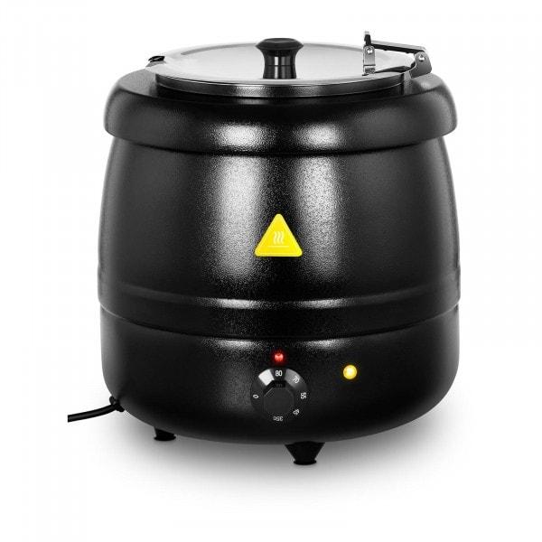 Soepketel - 10 L - 400 W - zwart