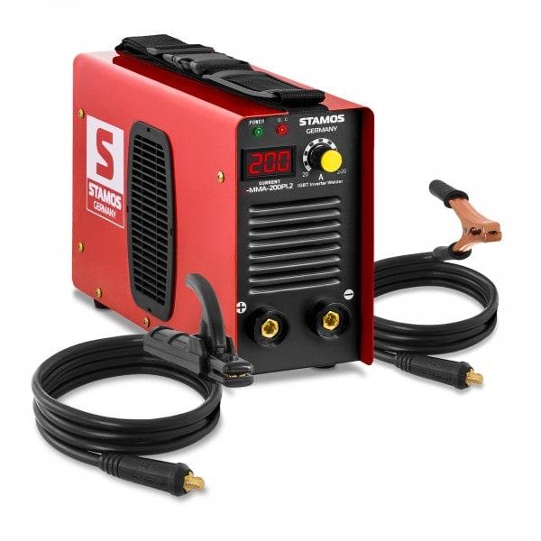Elektrode-lasapparaat - 200 A - Hot Start - LED-display