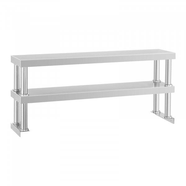 Aufsatzbord – 120 cm – 2 Ablagen - 1298 - 1