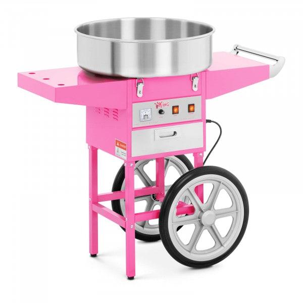 Suikerspinmachine met onderstel - 52 cm
