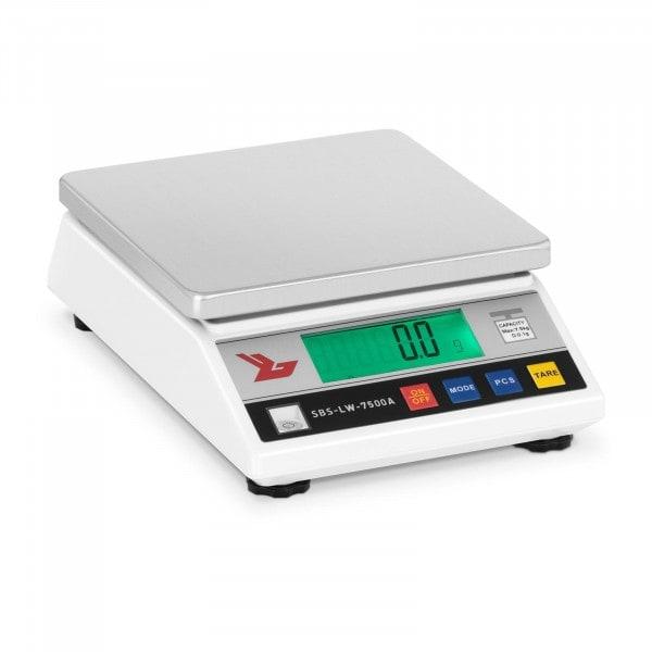 Precisieweegschaal - 7.500 g / 0,1 g - LCD