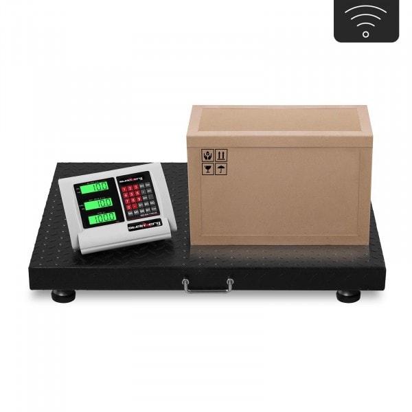 Vloerweegschaal - 1 t / 200 g - LCD - draadloos