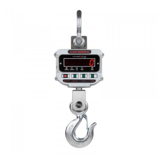 Gesamtansicht von Kranwaage - 5 t / 1 kg - LED