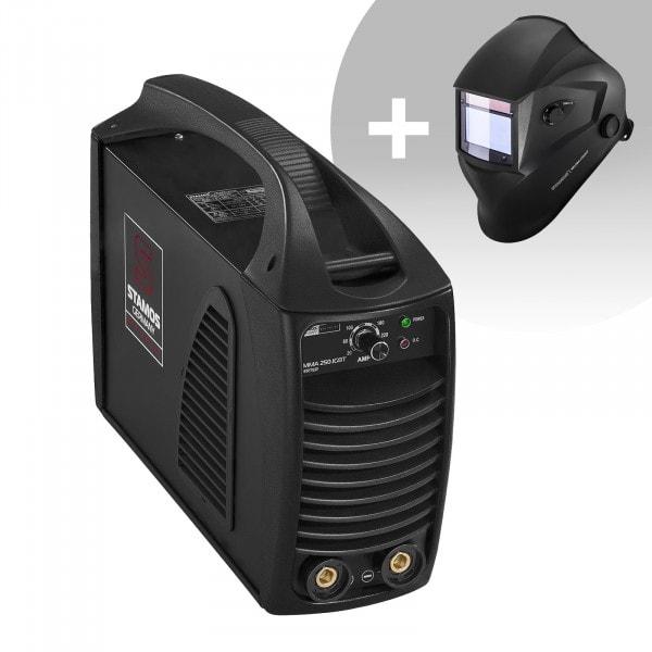 Elektroden lasapparaat – 250 A – 230 V IGBT + Lashelm – Blaster – ADVANCED SERIES