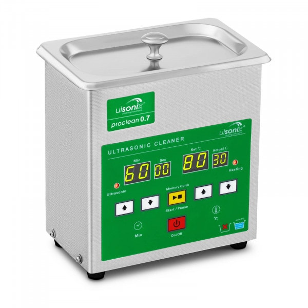 Ultrasoon reiniger – 0,7 liter - Memory Quick