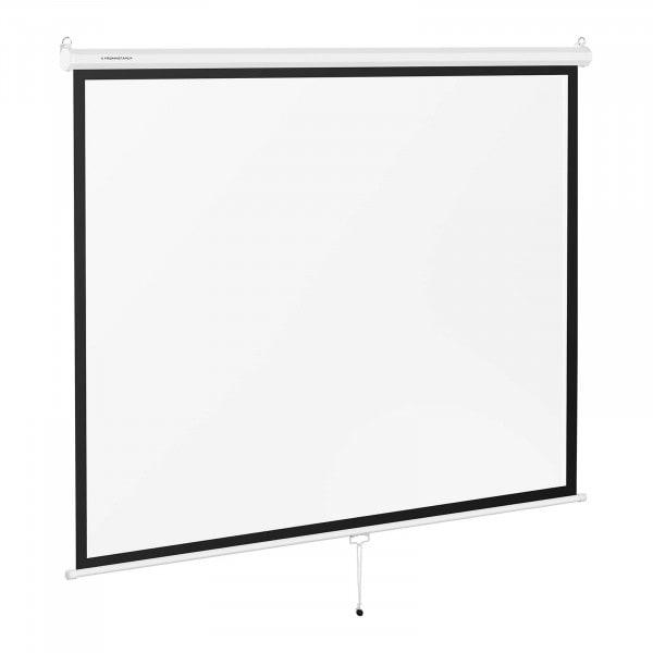 Tweedehands Projectiescherm - 211 x 161 cm - 4: 3