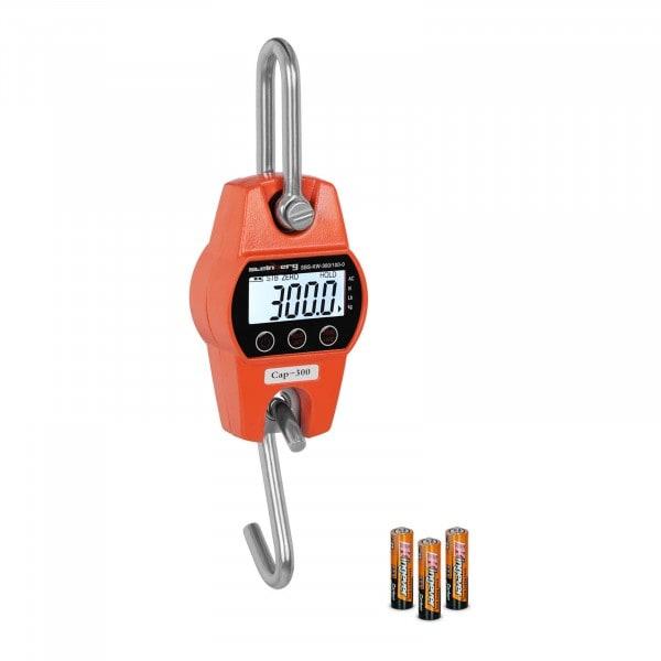 Kraanweegschaal - 300 kg / 100 g - oranje