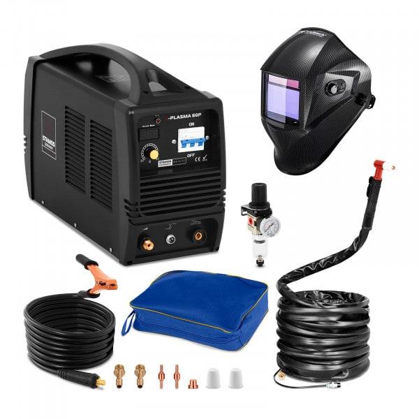 Plasmasnijder - 60 A - 400 V + Lashelm – Carbonic – PROFESSIONAL SERIES