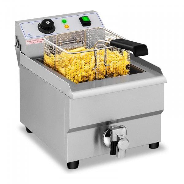 Elektro-Friteuse - 16 Liter - Aftapkraan - 230 V