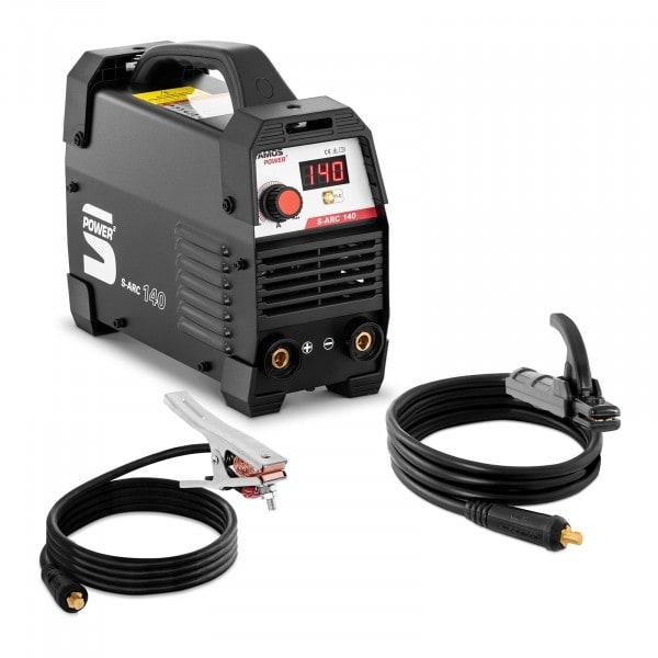 Elektrode lasapparaat - 140 A - hot start - handgreep