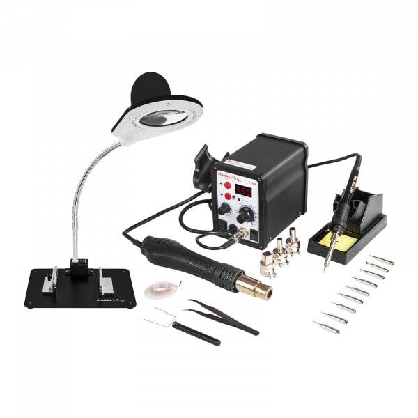 Soldeerstation - 60 W - LED - Display - Accessoires