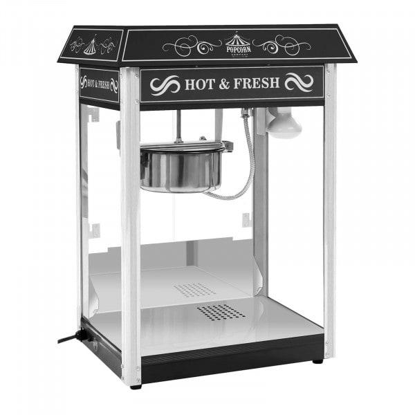 Popcornmachine - met zwart gekleurde dak