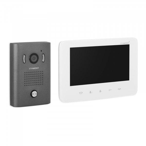 Tweedehands Intercom met camera - 1 monitor - 17.8 cm scherm - Video Intercom Systeem