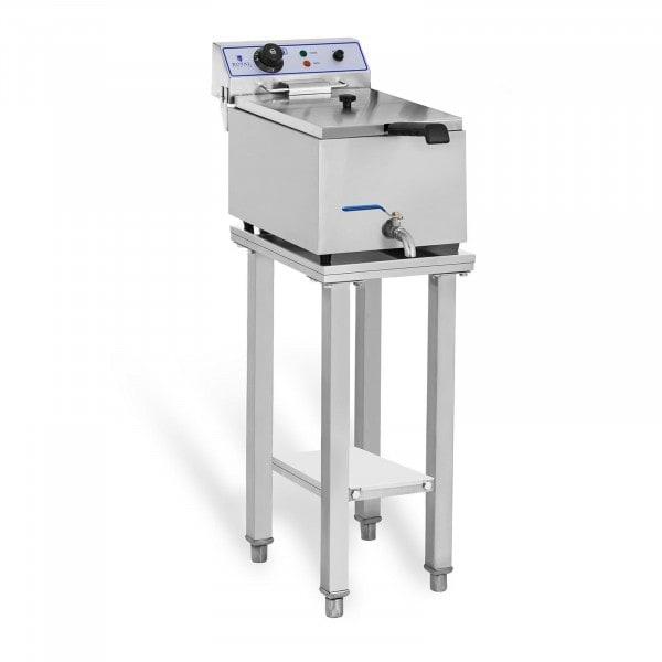 Elektro-friteuse - 1 x 17 L - met onderstel