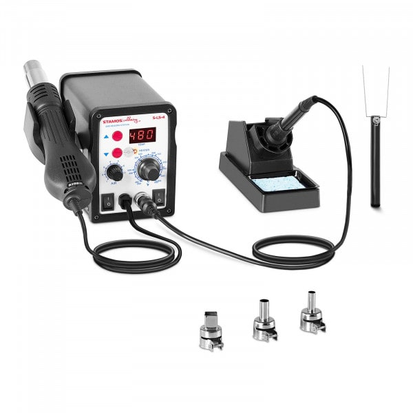Digitaal soldeerstation - 60 watt - LED-display - Basic